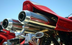 motorcycle tailpipe